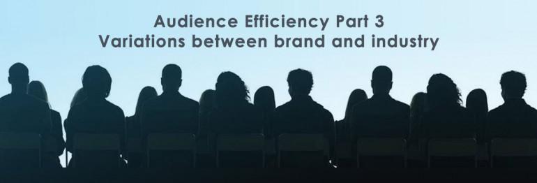 Audience Efficiency: Variations Between Industries and Brands