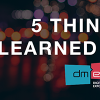 5 Things I Learned at dmexco 2016