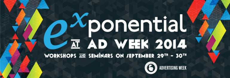 Exponential at Advertising Week 2014