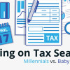 Taking on Tax Season: Millennials vs. Baby Boomers