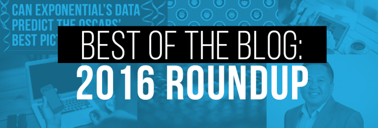 Best of the Blog: A 2016 Roundup