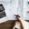 How does financial planning affect travel intention?