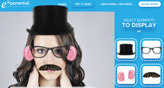Exponential Creates Augmented Reality Ad Experience with Face Filter VDX Ad Unit