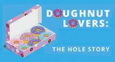 Doughnut Lovers: The Hole Story (Infographic)
